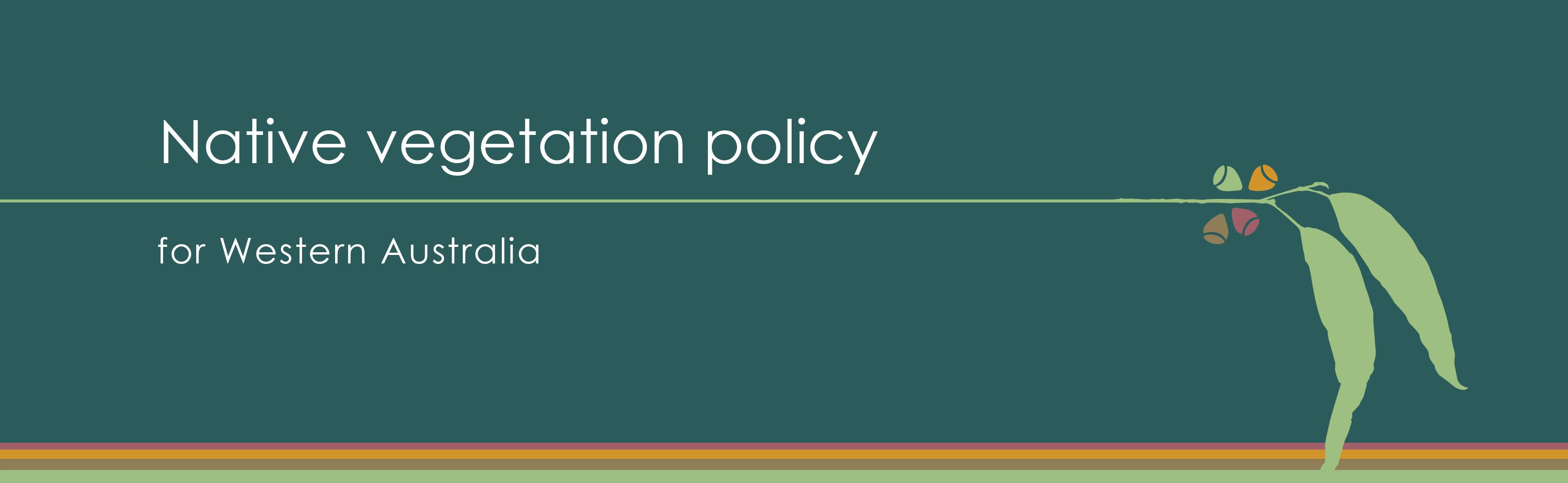 native vegetation policy banner image